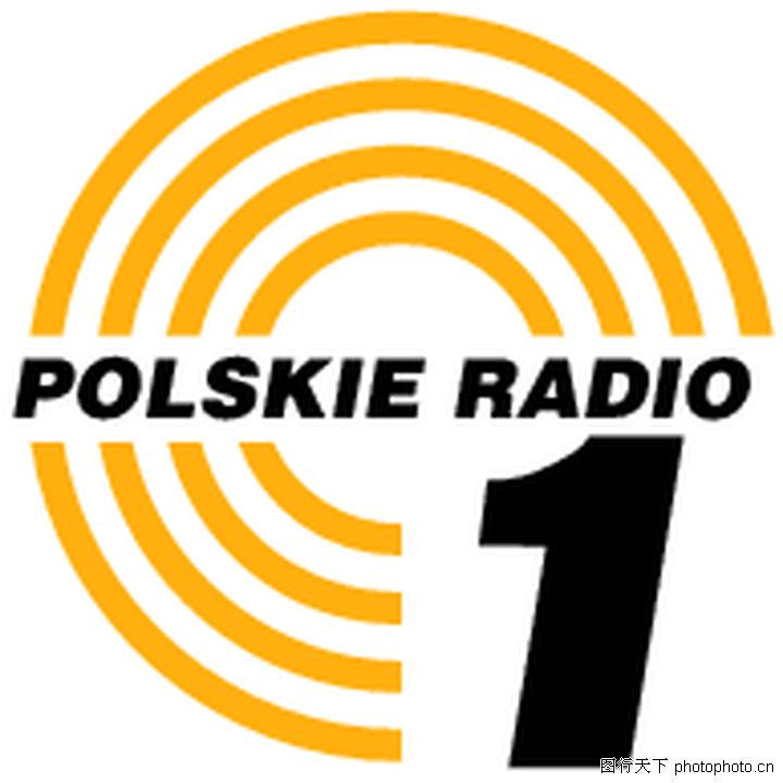 全球广播电台矢量标志,logo专
