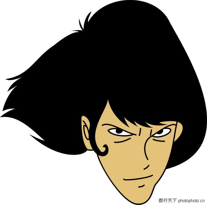 全球电视卡通形象矢量logo,logo专辑,发型 人物形象,全球电视卡通形象