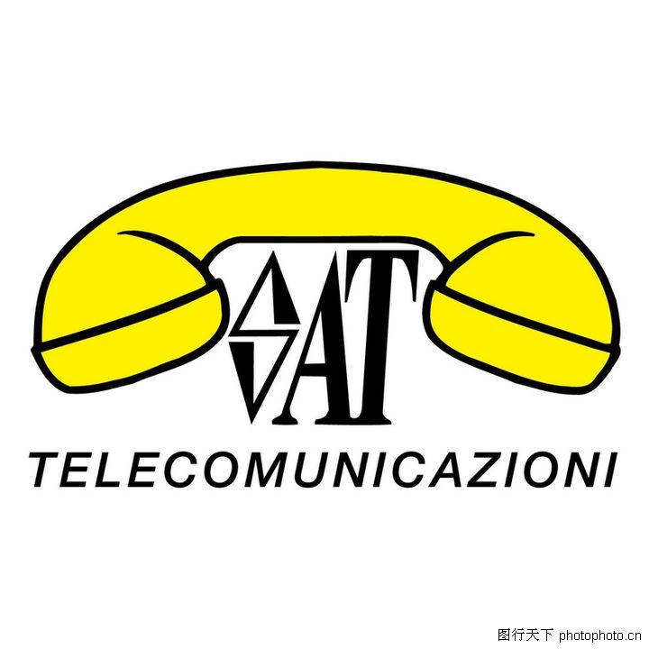 全球通讯手机电话电信矢量logo0396