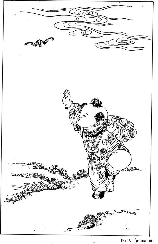 儿童葫芦画图案大全集