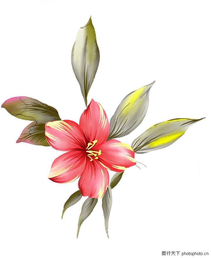 水粉花朵教程 简单唯美的水粉画教程 水粉画花朵