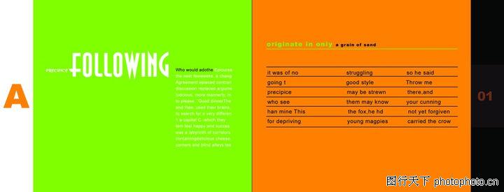 创意,版式设计,配方 目录图片图片