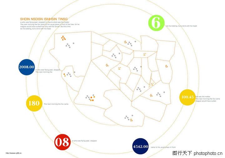 文字变化,版式设计,地图