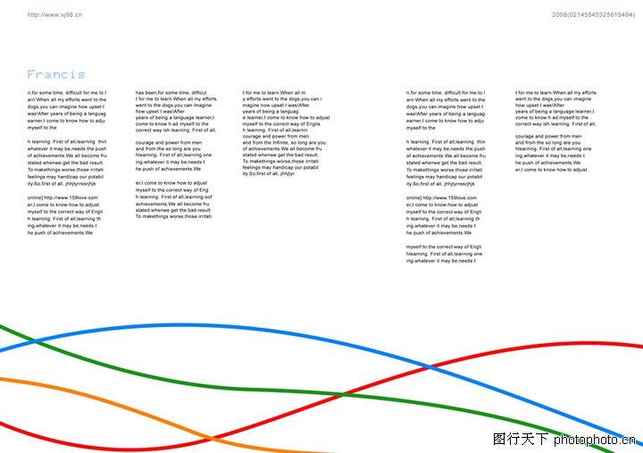文字变化,版式设计,条纹