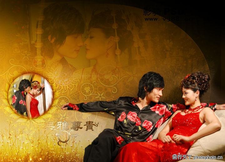 浪漫柔情模板2,浪漫柔情模板,尊贵 传统 旗袍,浪漫柔情模板20005