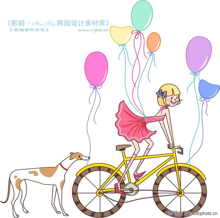 气球编织自行车图解