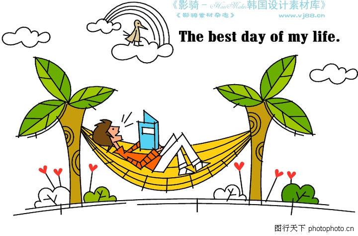 沙滩椰树简笔画多图_椰子树简笔画图片图