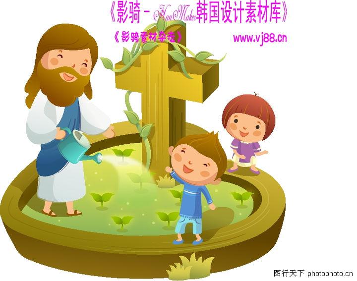 耶稣儿童,人物,十字架