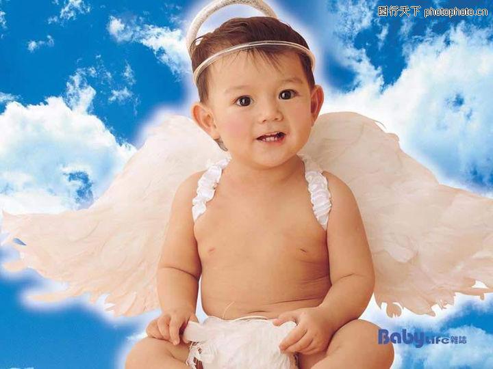 可爱的宝宝,人物,天使