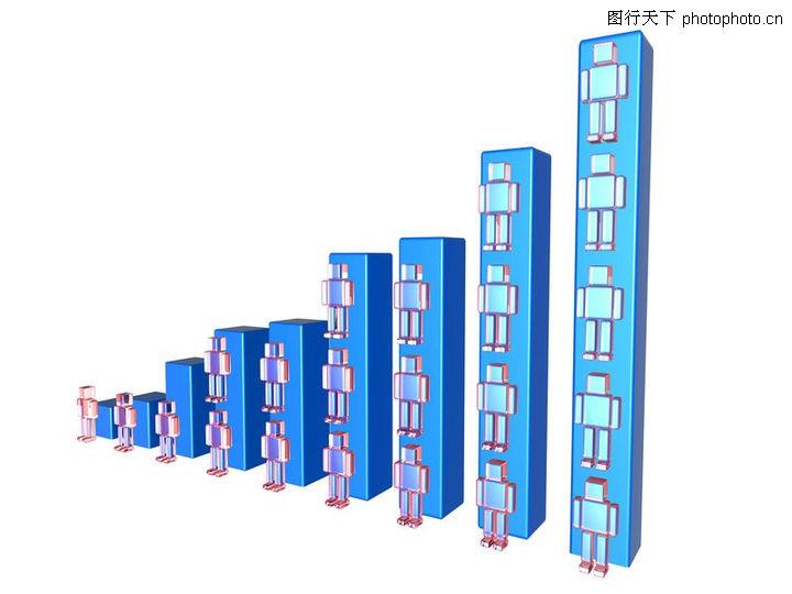 统计图形,金融,梯级 层次 增长,统计图形0073