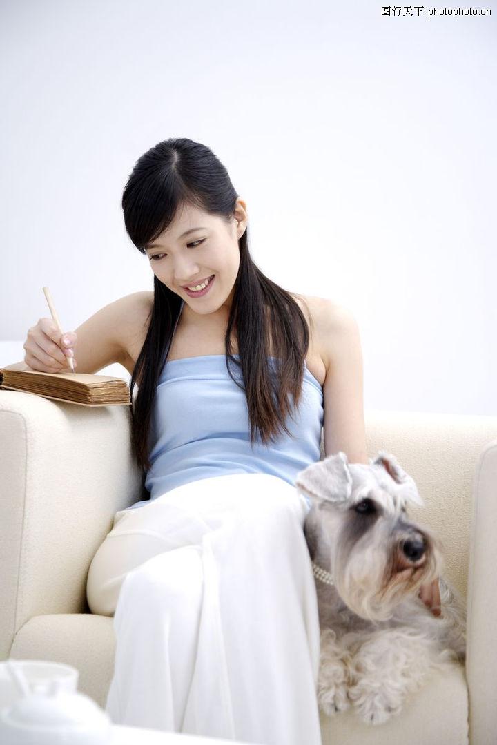 女性宠物,生活方式,写作 灵感 来源,女性宠物0079