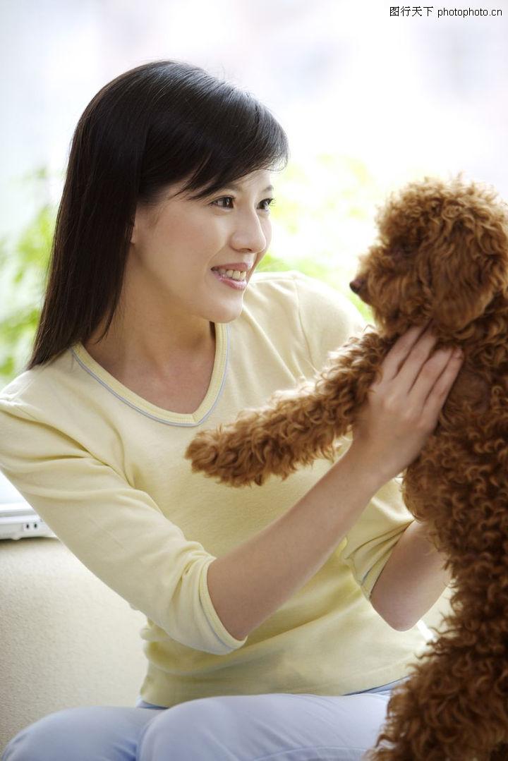 女性宠物,生活方式,女性宠物0095
