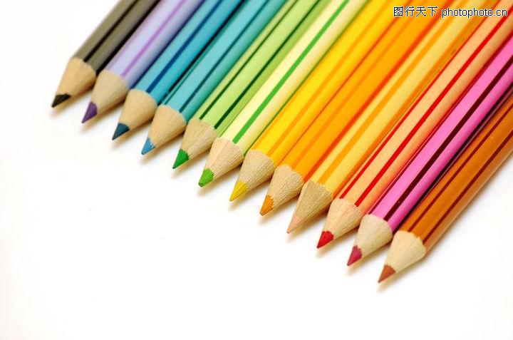 彩虹色 绘画工具图片