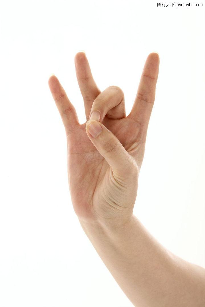手势喻意0030 手势喻意图 创意概念图库 兰花指大拇指弯屈