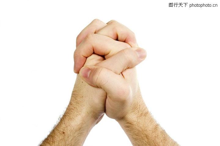 创意概念,双手相握