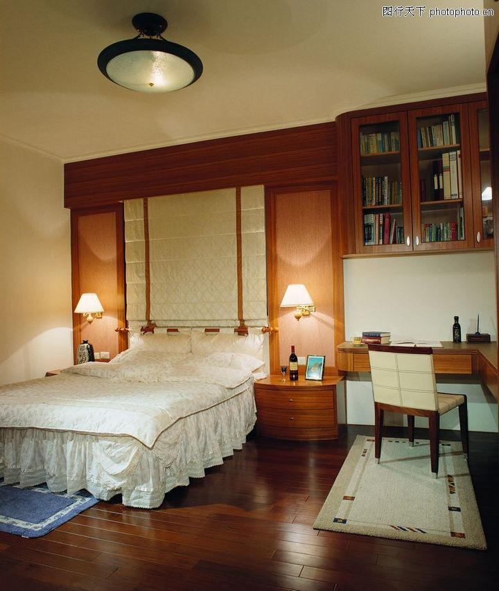 卧室潮流趋势,建筑室内空间,床头灯 顶灯 地板,卧室潮流趋势0030