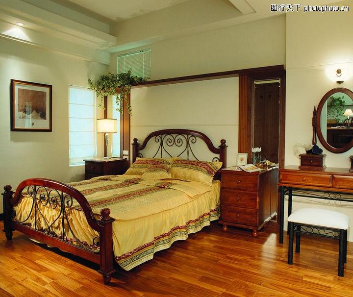 建筑室内空间,欧式床铺