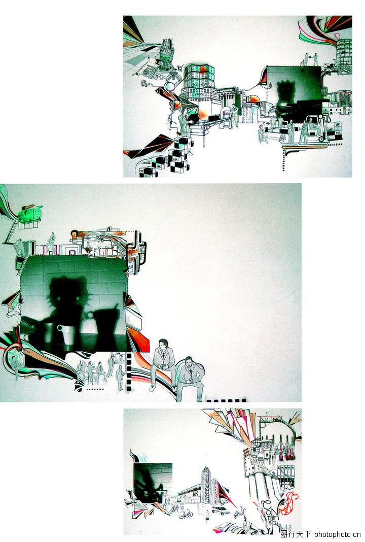 热潮涂鸦式设计,2008全球广告年鉴,热潮涂鸦式设计0065