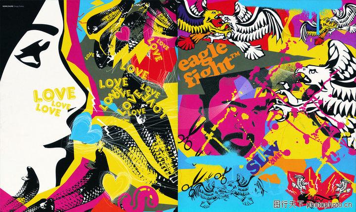 热潮涂鸦式设计,2008全球广告年鉴,热潮涂鸦式设计0068