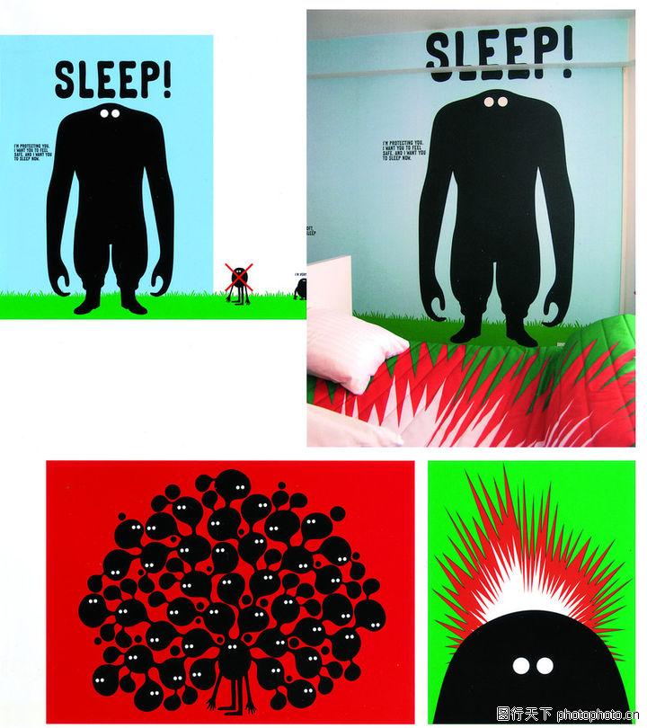热潮涂鸦式设计,2008全球广告年鉴,热潮涂鸦式设计0167