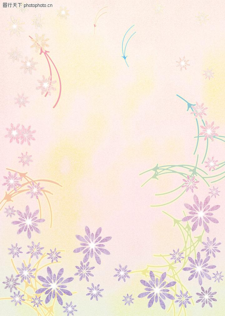 典雅梦幻,底纹背景,典雅花纹,典雅梦幻0152