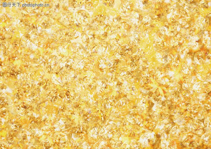 晶莹剔透浪漫背景,底纹背景,金黄色背景,晶莹剔透浪漫背景0169图片