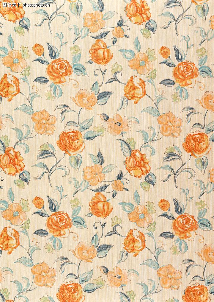 中式窗帘布纹贴图_底纹背景,花布 面料图片