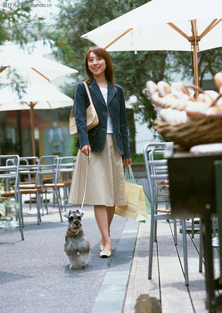 家有宠物,生活方式,和狗狗散步,家有宠物0147