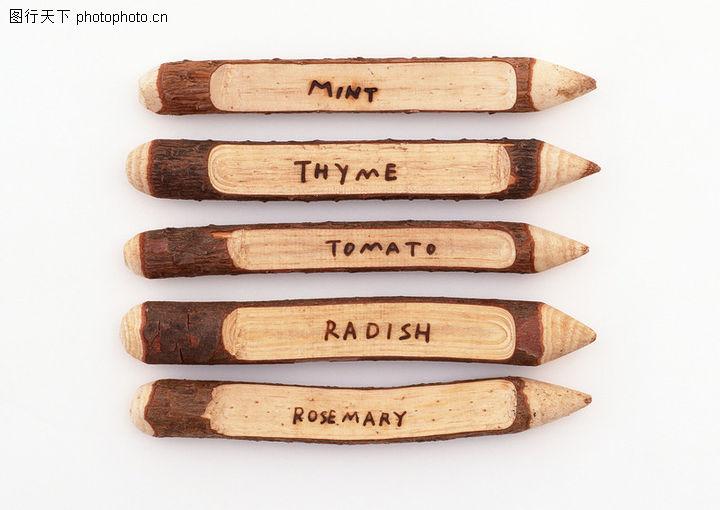 发现艺术,木头指示牌