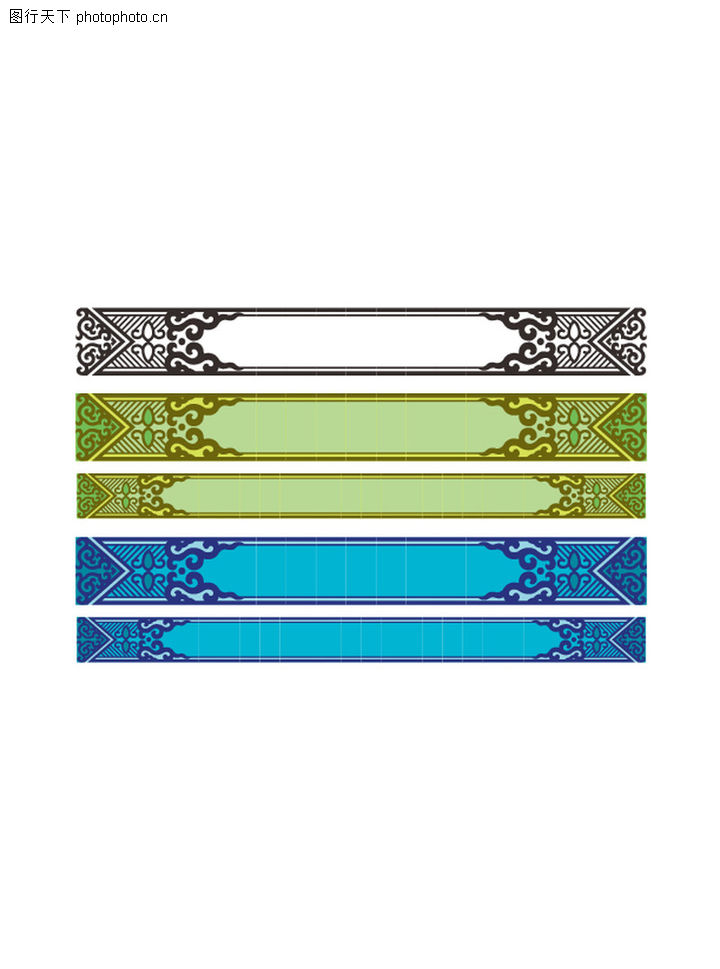 新疆纹饰矢量图