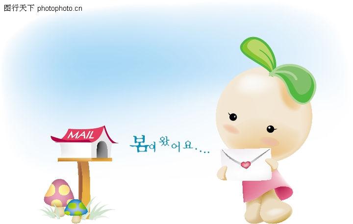 豆豆娃娃,动物,可爱豆娃,豆豆娃娃0012