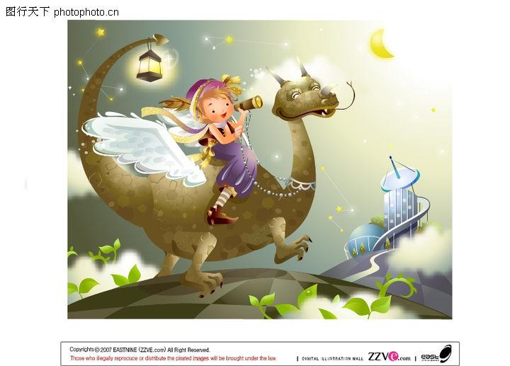 魔法卡通世界,动物,魔幻童话,魔法卡通世界0015