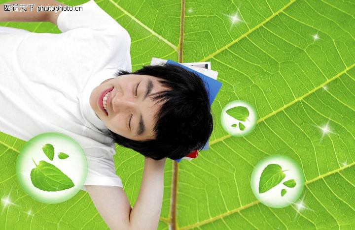 人物风景,韩国设计元素,人物风景0127
