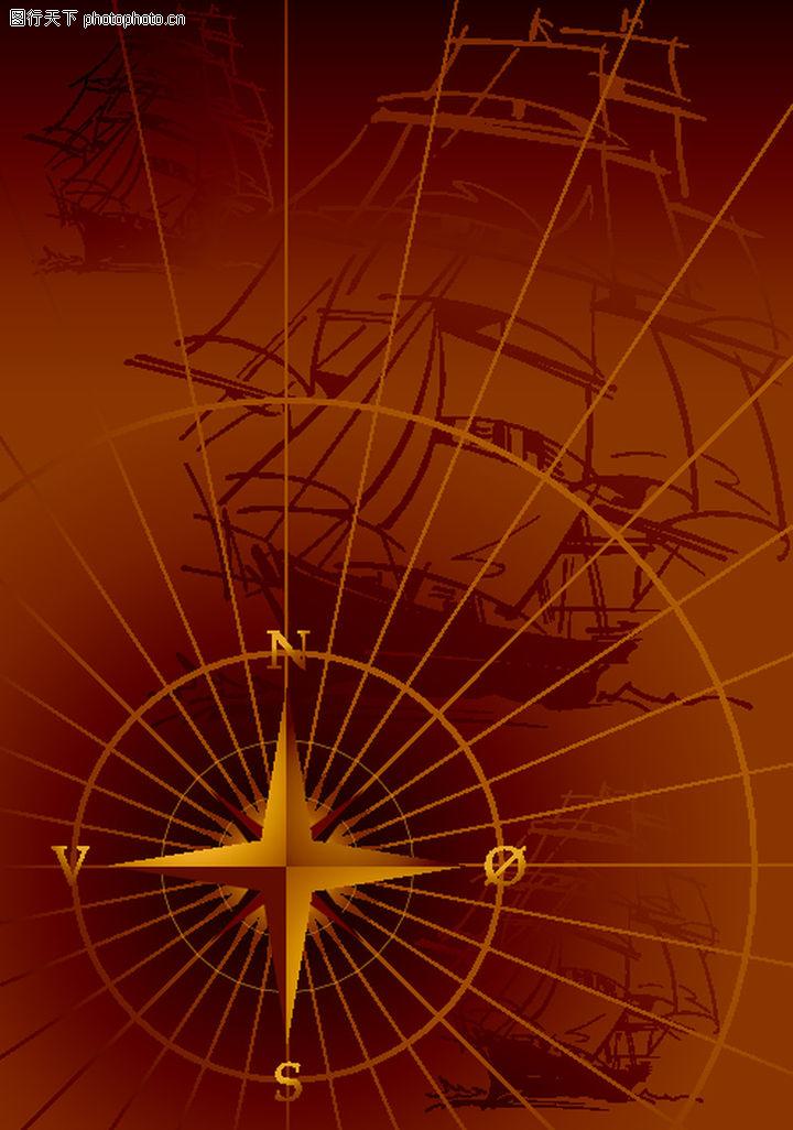 航海0005-航海图-底纹背景图库