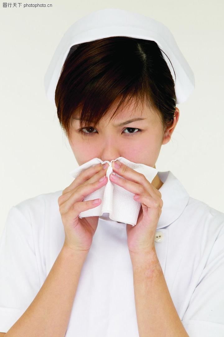 医护人员 擤鼻涕