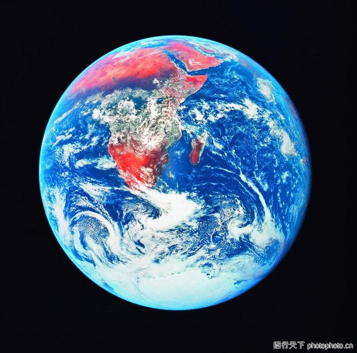 蓝色地球素材 云