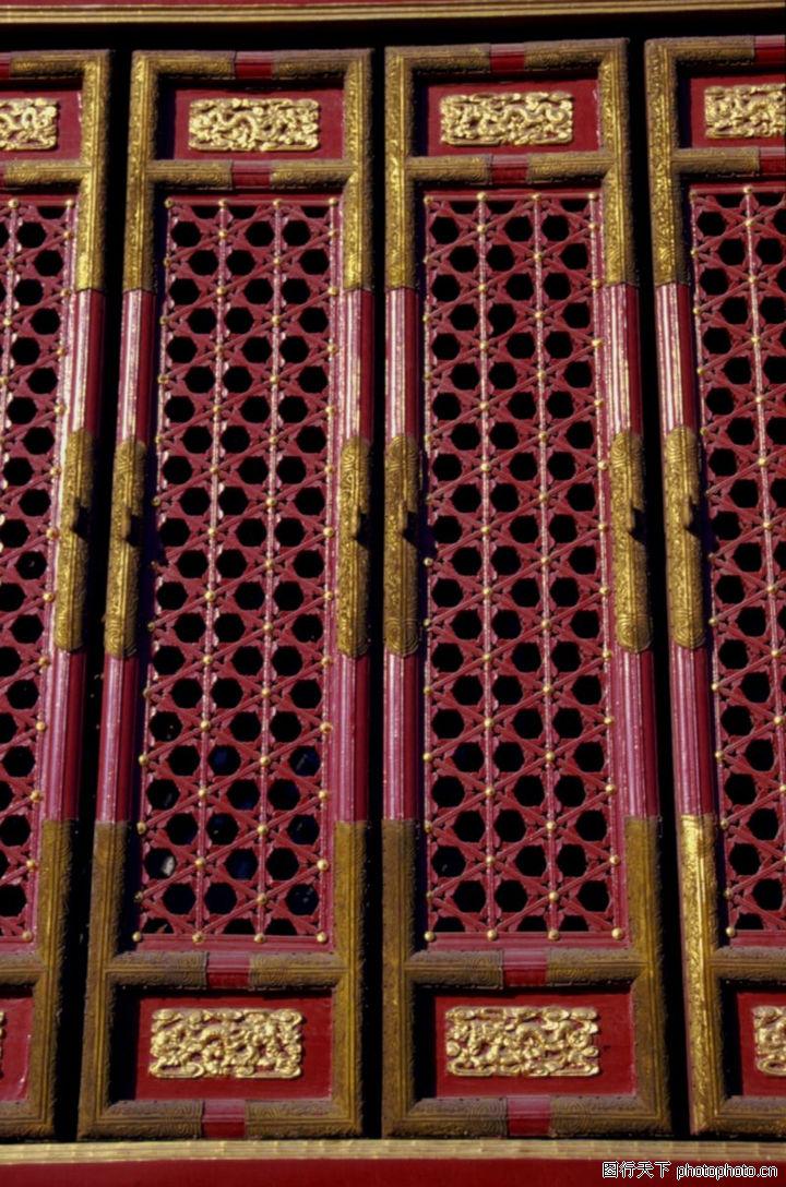 古代装饰,中华图片,木窗
