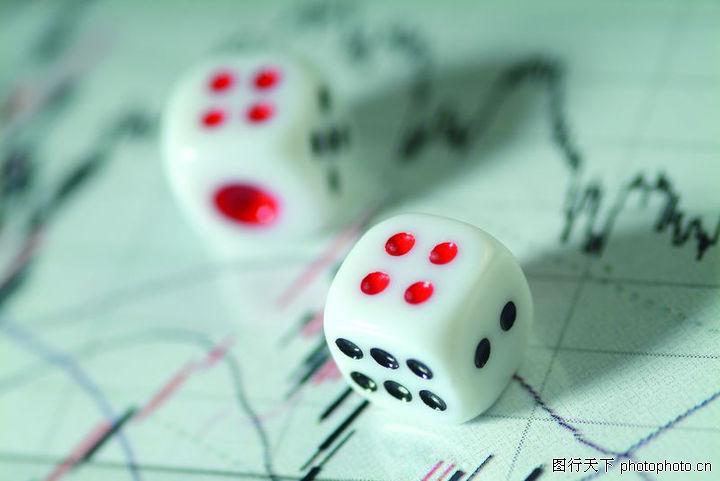 业图表0031-商业图表图-商业图库-色子 点数 股市