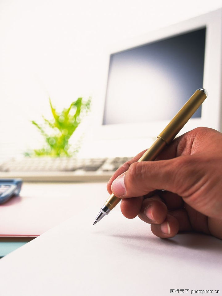 商业科技,商业,计算机 钢笔 写字,商业科技0093