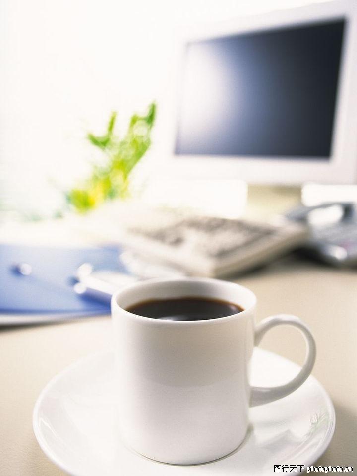 商业科技,商业,黑咖啡 茶杯 静物,商业科技0095