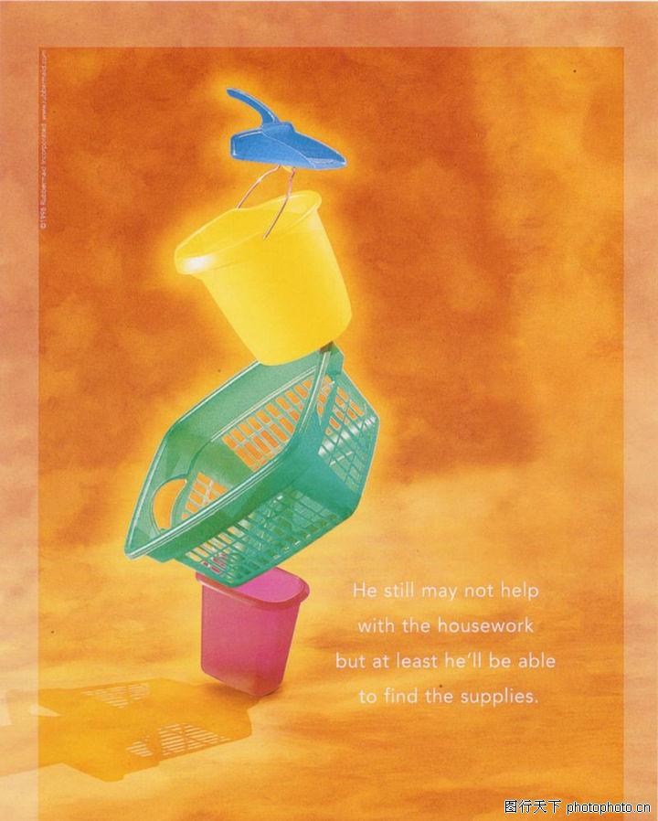 流行时尚 顶尖视觉创意 桶子 物件 设计