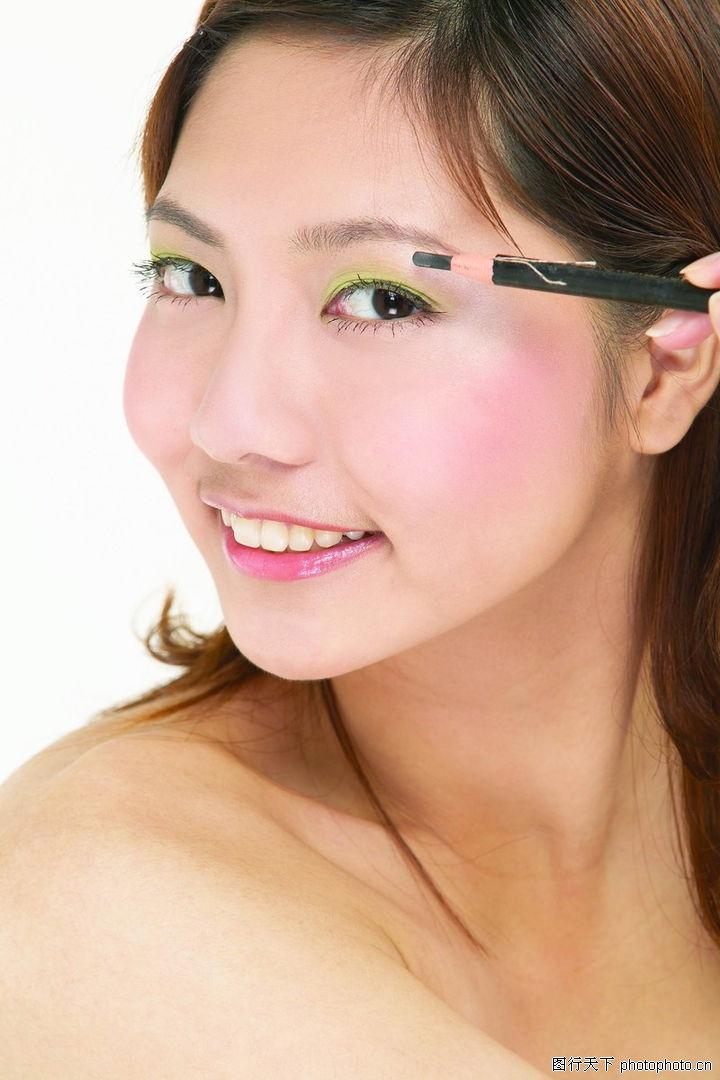 美容化妆,人物,美容化妆0095