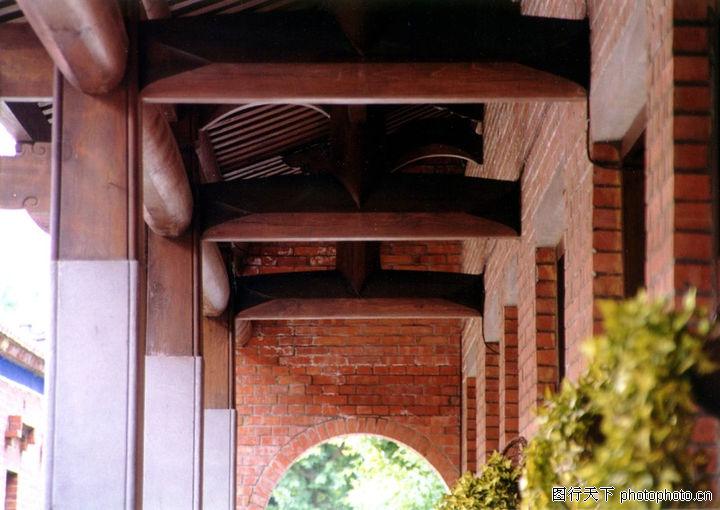 古代建筑0243 古代建筑图 建筑图库 房梁图片