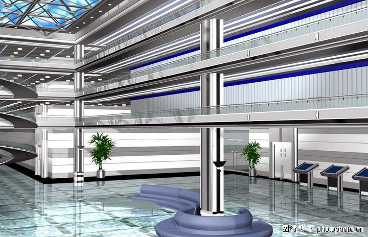 宾馆酒店模型,装饰,宾馆酒店模型0045