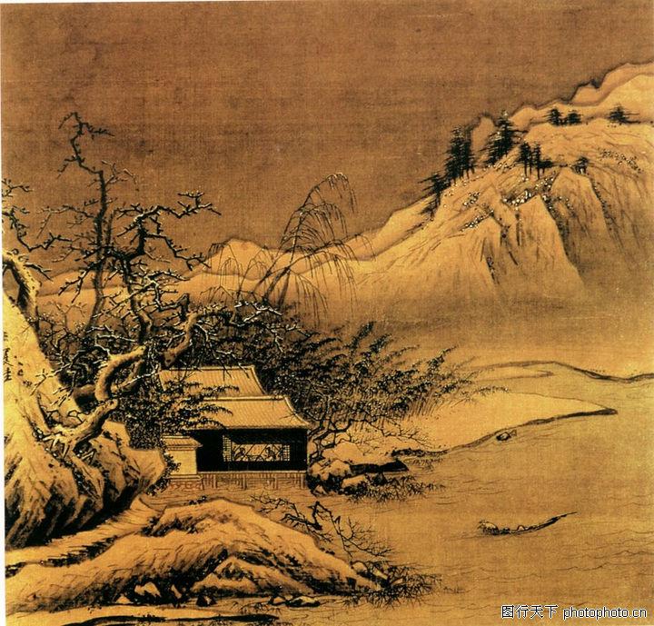 山水名画,中华图片,经典名画,山水名画0163