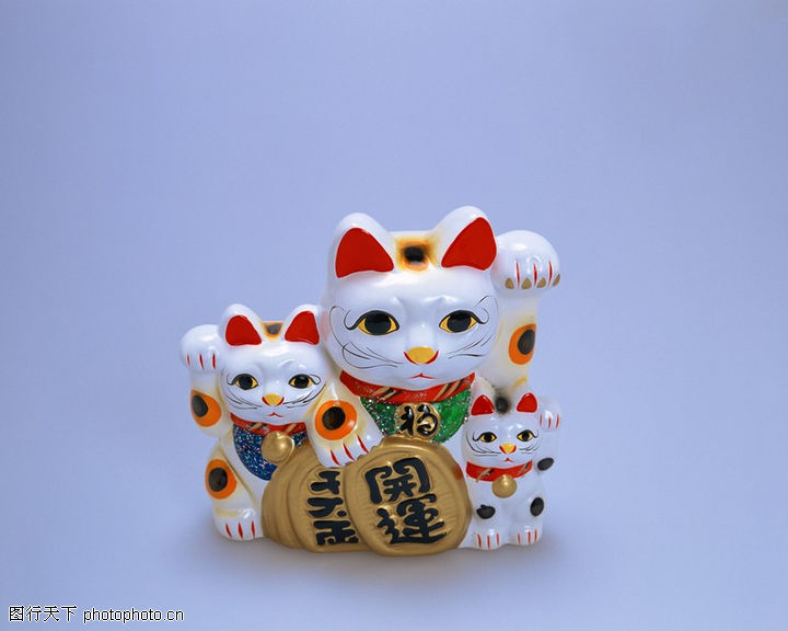 欢快节庆 生活 招财猫 高清图片
