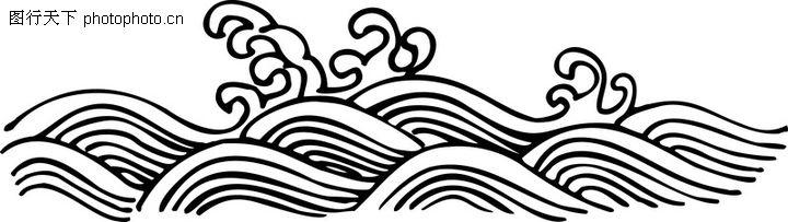 古典云纹,中华图片,波浪云图片