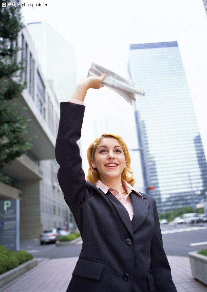 职场生涯,商业,挥手 打招呼 笑脸,职场生涯0035