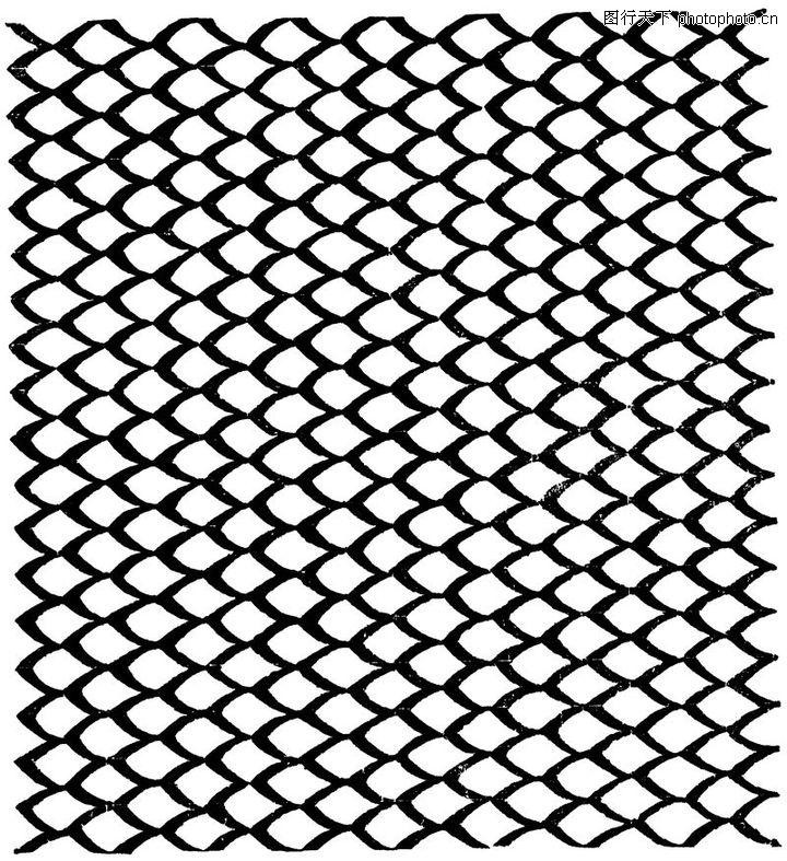 印度图案,地域风情,圆形 印度图案 鱼鳞状,印度图案0095