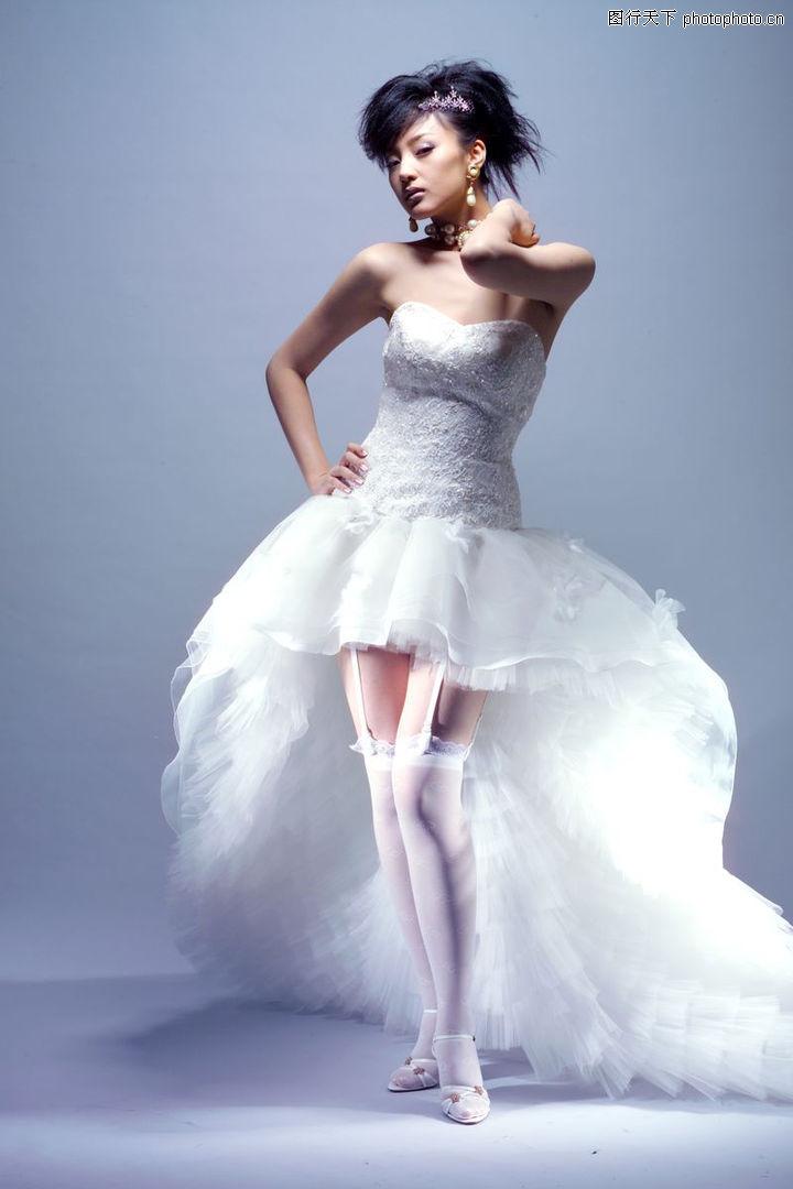 婚纱写真,单人照